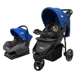 Cochecito de Bebé Bebitos BE 512A Jogger Azul + Huevito