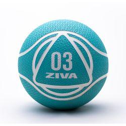 Medicine Ball ZIVA 3kg Turquesa