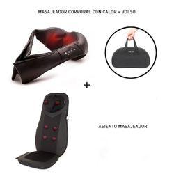 Masajeador Cervical+asiento Espalda Completo