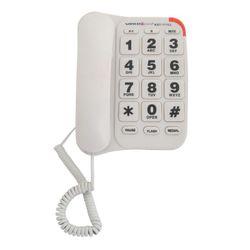 Teléfono con Cable de Mesa Winco TE111 Blanco