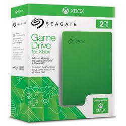 Disco Rígido Seagate 2TB Usb 3.0 Xbox Game Drive