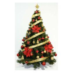 Arbol de Navidad Premium 1 50 Mts con Kit 48 Piezas