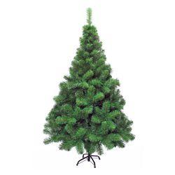 Árbol de Navidad Canadiense Extra Lujo 1 80 Mts Pie Metálico