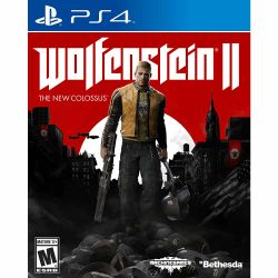 Juego PS4 Bethesda Wolfenstein II The New Colossus