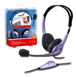Auricular Genius Hs 04s x 1 Jack Mic Auric