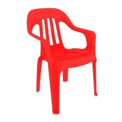 Combo de Sillas de Plástico Pasadena x 12 Color Rojo