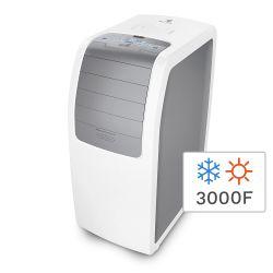 Aire Acondicionado Portátil Electrolux Frío/Calor 3000F 3500W EAP12B5TSDRW
