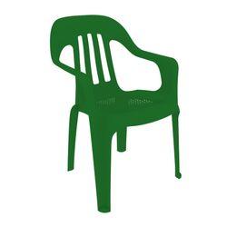 Combo de Sillas de Plástico Pasadena x 12 Color Verdes