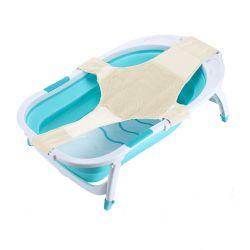 Bañera para Bebé Plegable con Adaptador Red Reductora Color Verde