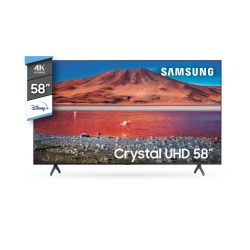 "Smart TV 4K UHD Samsung 58"" UN58TU7000"