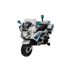 Moto a Batería Bebitos BMW Polícia R1200 Plateada