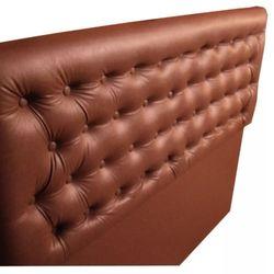 Respaldo Eco Cuero 110 x 120 1plaza y media chocolate