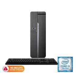 PC de escritorio CX Core i3-7100 4GB 1TB Slim Sin Sistema Operativo