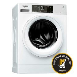 Lavarropas Carga Frontal Sense Inverter Whirlpool 7Kg 1400 RPM WLCF70B
