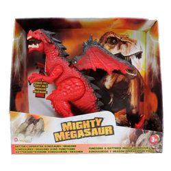 Megasaurio Dragon Rojo Mediano 80068
