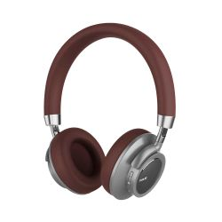 Auricular Bluetooth Havit F9 Marron y Plateado