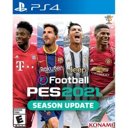 Juego PS4 Konami eFootball Pro Evolution Soccer PES 2021 Season Update