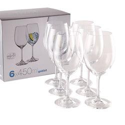 Caja de 6 Copas de Vino Tinto Lara