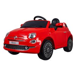 Auto a Bateria Fiat 500 Love 3032 Color Rojo