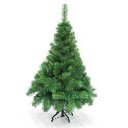 Arbol de Navidad Canadian Extra Lujo 1.20 Mts Pie Metalico