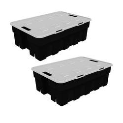 Combo de Cajas Organizadoras Roller Box 30 Lts x 2 Unidades