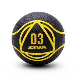 Medicine Ball ZIVA 2 kg Negro