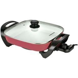 Sarten Electrica Winco W55 Rojo 1500W