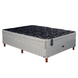 Sommier y Colchón de Resortes Springwall MCB115 140x190cm c/Euro Pillow