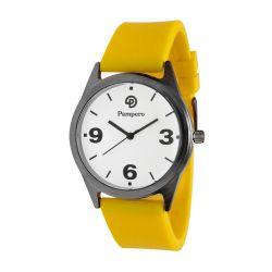 Reloj Mujer Pampero malla silicona amarilla PM01 MSYL
