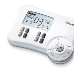 Electroestimulador 3en1 P/dolor/musculos/masaje Beurer Em80