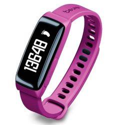 Reloj Beurer As81 Sensor de Actividad y Sueño c/Bluetooth Violeta