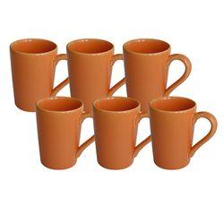 Set x 6 Jarros Mug 230 CC Biona by Oxford Ceramica Naranja 1994062
