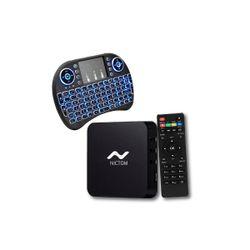 Convertidor Smart Tv Nictom 1Gb Ram más Mini Teclado