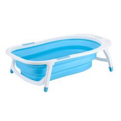 Bañera para Bebé Plegable Rooby Color Celeste