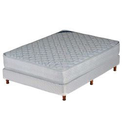 Sommier y Colchón de Resortes Piero Modena Doble Pillow 140 x 190 cm