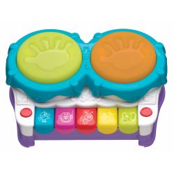 Juguete didáctico Playgro 2 EN 1 LIGHT UP MUSIC MAKER