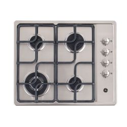 Anafe a gas 60 cm Inoxidable GE Appliances - AGGE62IVE