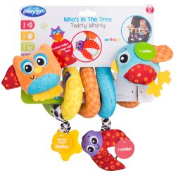 Juguete didáctico Playgro WHO S IN THE TREE TWIRLY WHIRLY