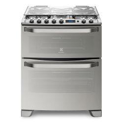 Cocina Doble Horno Electrolux 76XDR 76 cm