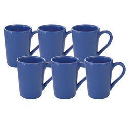 Set x 6 Jarros Mug 230 CC Biona by Oxford Ceramica Azul 1994058