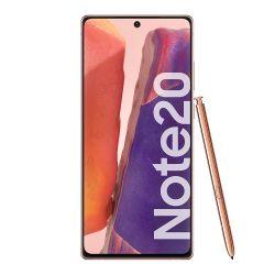 Celular Libre Samsung Galaxy Note20 Bronce