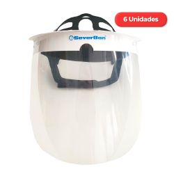 Máscara Protectora Facial SV500 por 6 Unidades